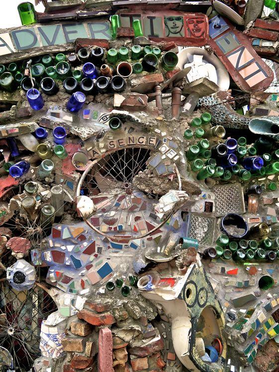 45 best magic gardens images on Pinterest Philadelphia Mosaics