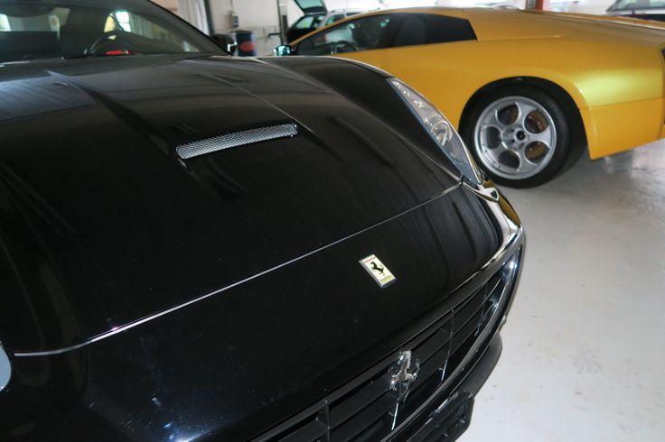 Markenspezifische Wagenpflege für Sportautos