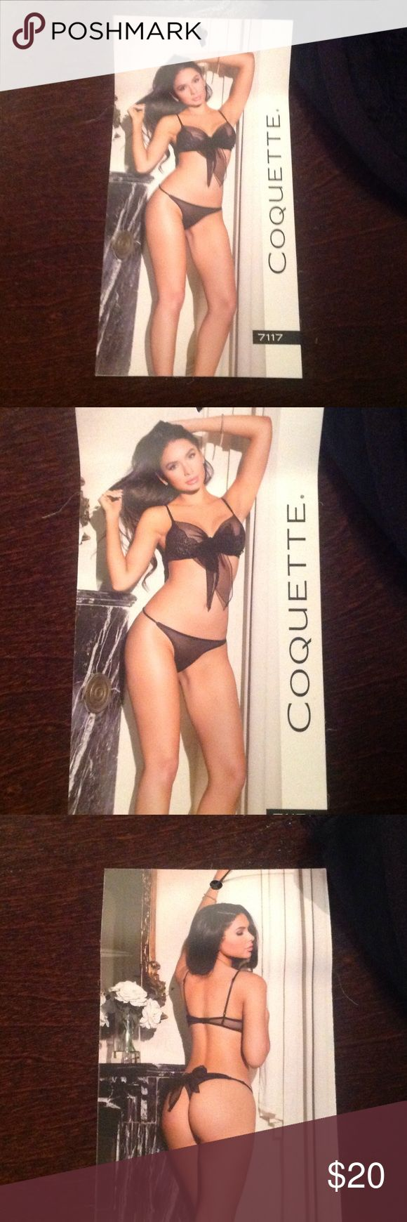 Coquette lingerie Black 2piece coquette Intimates & Sleepwear