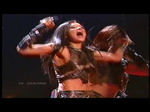 Eurovision 2004 Final 10 Ukraine *Ruslana* *Wild Dances* 16:9 GQ