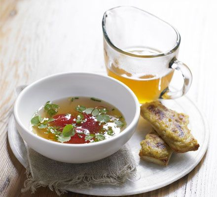Lisa Allen, head chef at Michelin-starred restaurant Northcote, uses the best local ingredients for this elegant soup