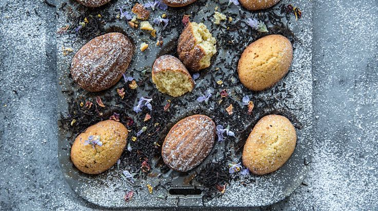 French Earl Grey Madeleines
