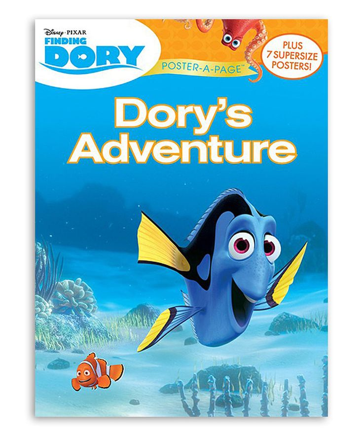 Look what I found on #zulily! Finding Dory Dory's Adventure Poster-A-Page by Pixar #zulilyfinds