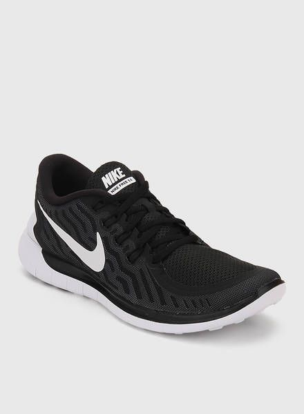 Buy Nike Free 5.0 Black Running Shoes for Men Online India, Best Prices, Reviews | NI091SH61RIKINDFAS