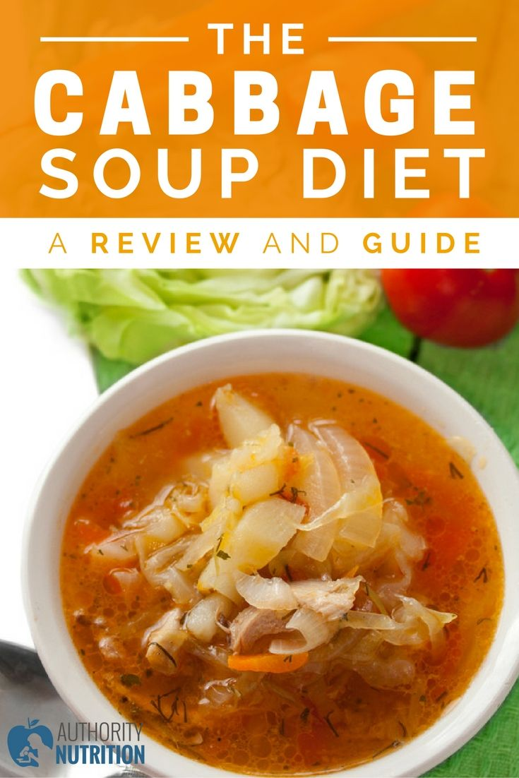 Eating nothing but cabbage soup for a week can help you lose lots of weight fast, but it has some drawbacks as well. Learn more about the cabbage soup diet: https://authoritynutrition.com/the-cabbage-soup-diet/