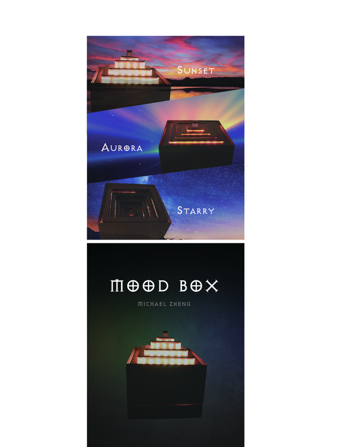 Mood Box light- design by Michael Zheng
