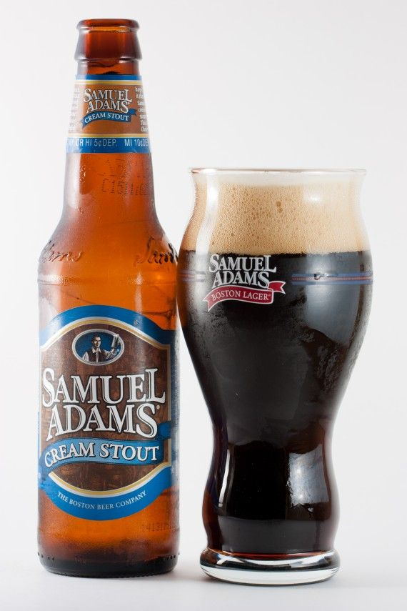 Samuel Adams - Cream Sout. My favorite of all stout beer.