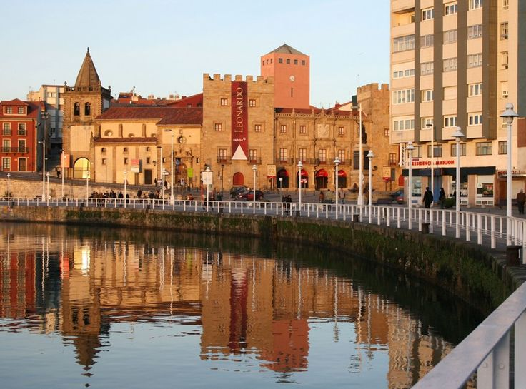 Revillagigedo's reflection - Gijon, Asturias