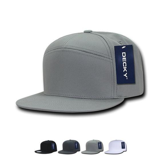 7 Panel Snapback Hats Flat Bill Baseball Caps Blank Hats Bulk Hats Wholesale Hats In 2020 Snapback Hats Blank Hats Hats