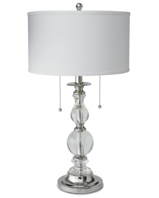 Master bedroom lamps. These classic lamps are so chic and I love that you can pull one cord or both for more lighting.