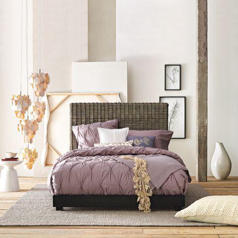 gorgeous organic bedding.: Design Trends, Guest Bedrooms, Bedrooms Design, Duvet Covers, Interiors Design, Colors Schemes, Master Bedrooms, Bedrooms Ideas, West Elm