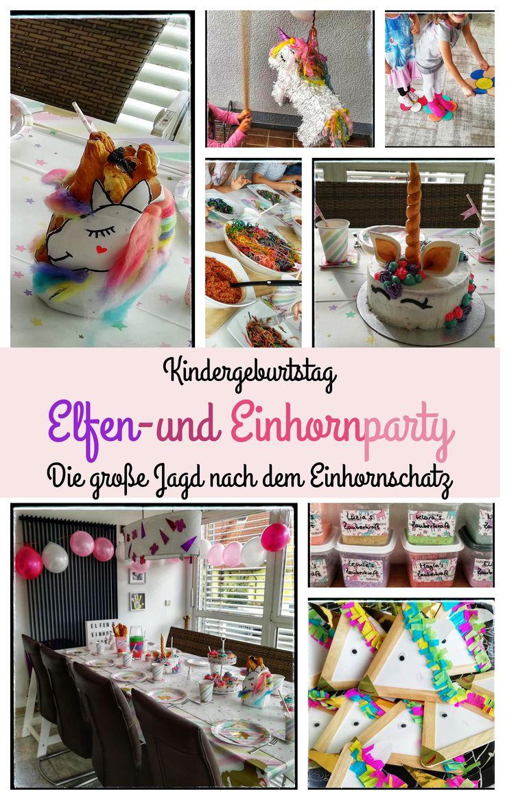 """Kindergeburtstag """"Elfen und Einhorn Party"""""""