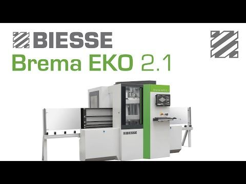 Biesse Brema Eko 2.1 - Panel Processing - YouTube