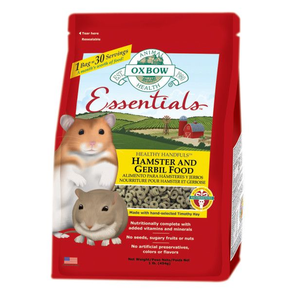 I wouldn't feed this by itself, but definitely a good idea to mix in with your hamster's regular diet. Ingredients:  Timothy Meal, Pearled Barley (Rolled), Oat Groats, Linseed (Flax) Meal, Canola Meal, Wheat Gluten, Millet, Ground Flax Seed, Canola Oil, Limestone, Salt, Dried Yeast Culture (Saccharomyces cerevisiae),Vitamin E Supplement, Choline Chloride, Zinc Proteinate, Zinc Sulfate, Ferrous Sulfate, Niacin, Copper Sulfate, Selenium Yeast, Vitamin A Supplement, Folic Acid, d-Calcium…