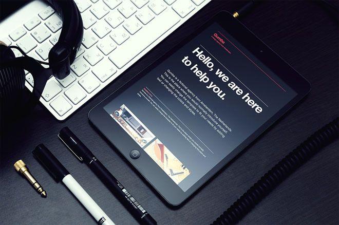 Gumba : Free Single Page HTML template for Design Agency | Freebiesjedi
