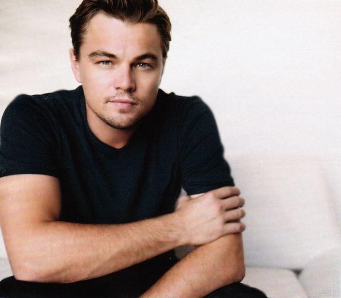Hollywood handsome actor Leonardo DiCaprio