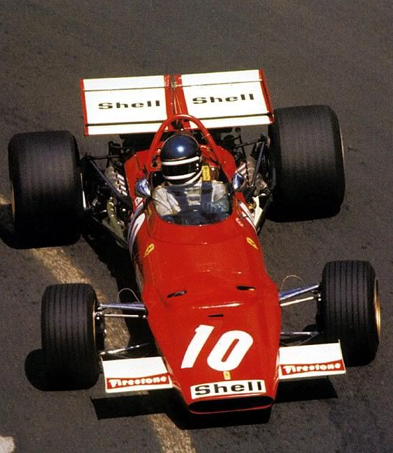 Ickx at France GP 1970