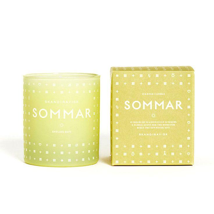 top3 by design - Skandinavisk - SOMMAR scented candle summer