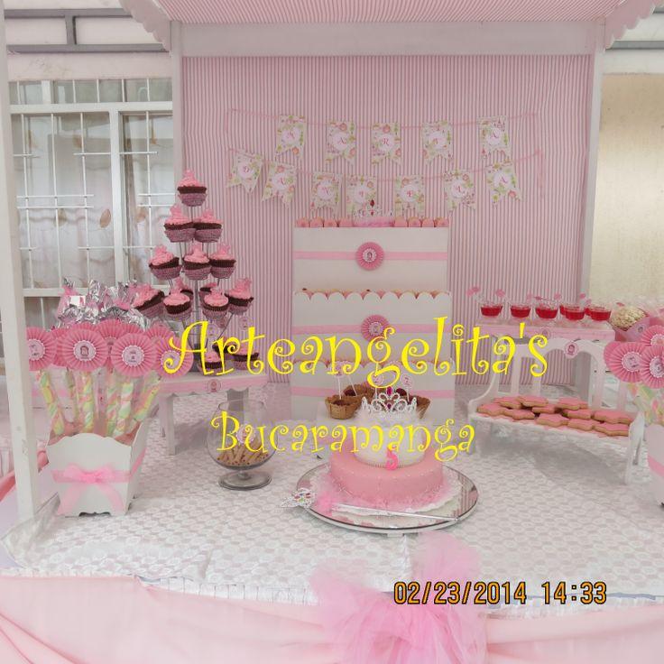 decoracion princesa