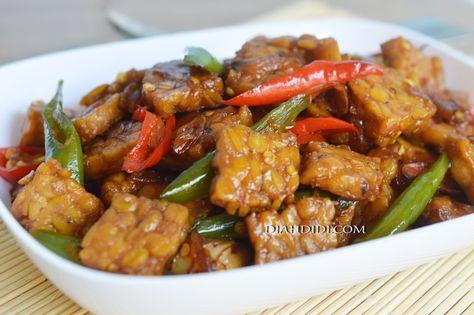 Diah Didi's Kitchen: Tumis Tempe Bumbu Kecap