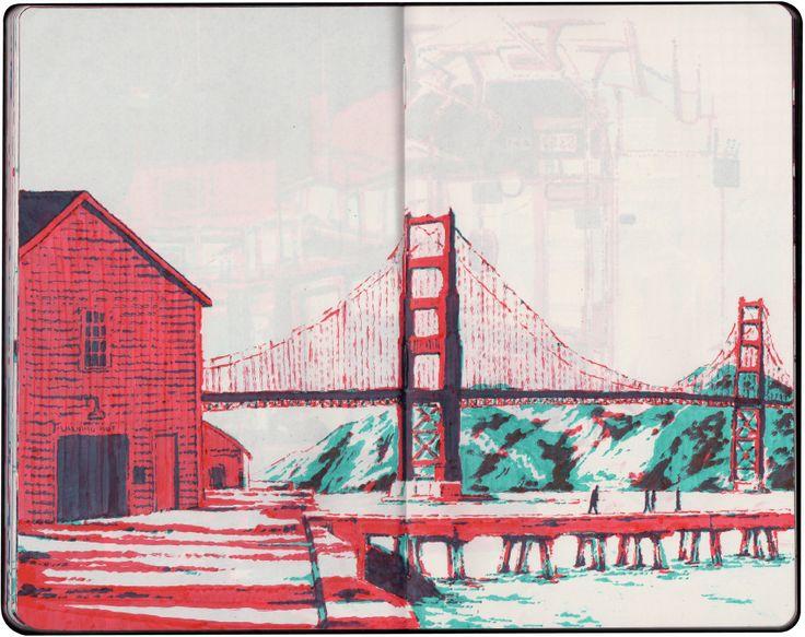 San Francisco (Sketchbook - November 2015) on Behance