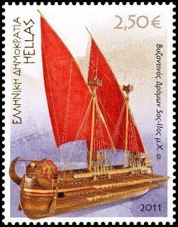 2011 Ελληνική ναυτιλία. Byzantine Dromon, 5th-11th Century AD