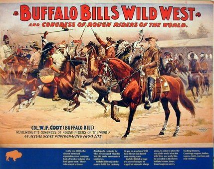 Absolutely Wow! Add this attractive Wild West buffalo bill's western Rough Rider's horse's room decor art print poster would amplify the look of your home decor. This amazing art poster will be a great addition to your home decor. Your guests will definitely compliment you for your excellent taste. Hurry up! Buy this poster for its durable quality with a high degree of color accuracy.