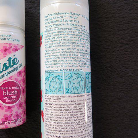 https://crazyhibble.wordpress.com/ #batiste #test #trockenshampoo #shampoo #produkttest #rossmann #rossmannnewsletter