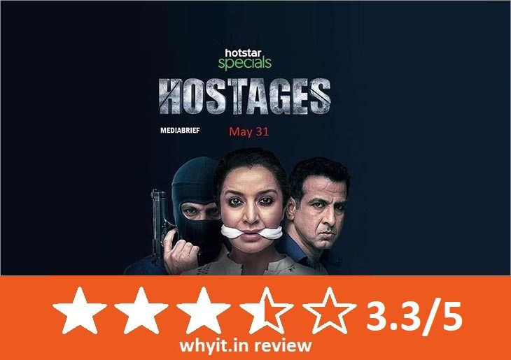 This web series contain a review of the hostages web series