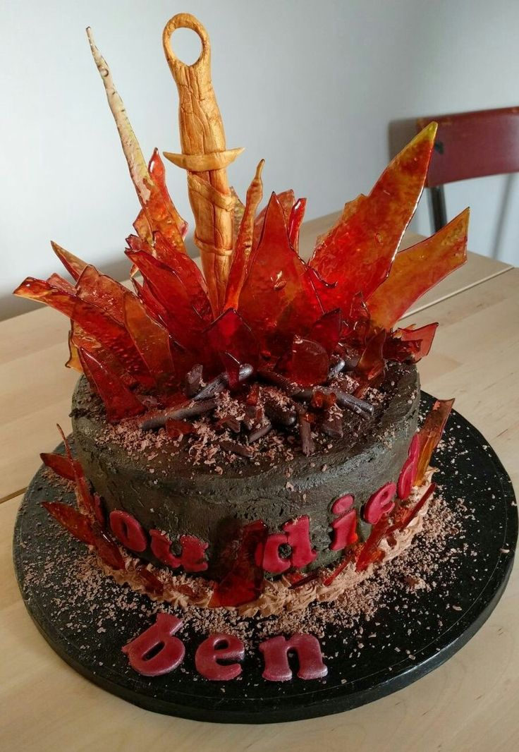 Dark Souls Bonfire Cake Quot You Died Quot Projects To Try In