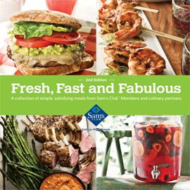 Find mouth-watering selection of family-friendly recipes in the Sam's Club Fresh, Fast and Fabulous eCookbook