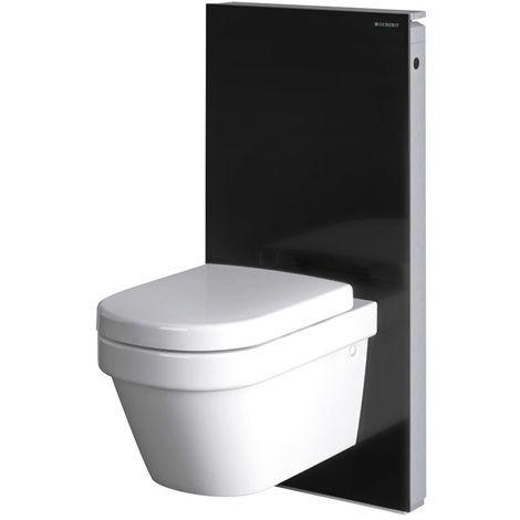 GEBERIT Panneau MONOLITH pour WC suspendu - Noir - Plomberie sanitaire chauffage