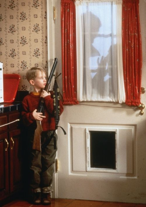 Home Alone...one of my favorite Christmas movies I watched every year with my son.