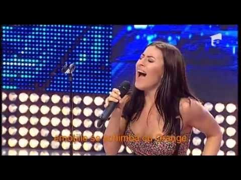 O tânără din Chișinău i-a lăsat muți de uimire pe jurații de la X Factor...