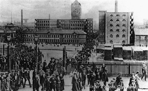 Singer factory history - Clydebank, Scotland
