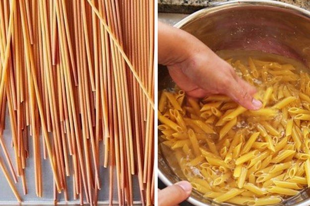 Try toasting pasta in the oven or in a dry pan before boiling to add nutty flavor