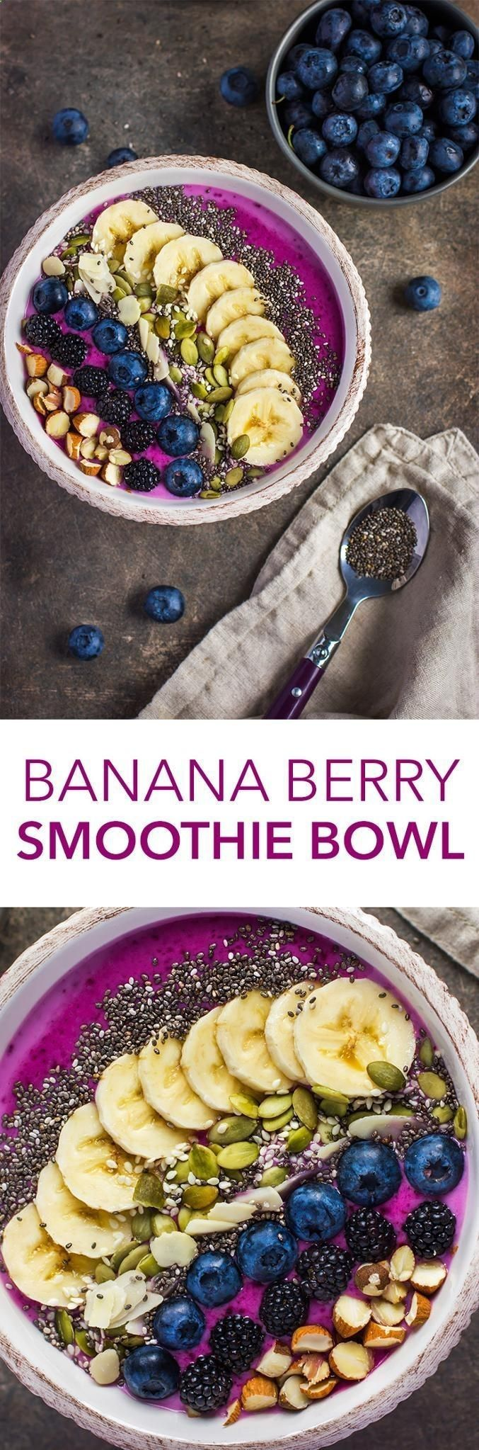 Eat Stop Eat To Loss Weight - With blueberries, blackberries, bananas, chia seeds, and more, this smoothie bowl is just what you need to power up for the day. Click through for the recipe! - In Just One Day This Simple Strategy Frees You From Complicated Diet Rules - And Eliminates Rebound Weight Gain