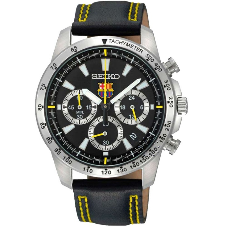 SEIKO Chronograph F.C.BARCELONA Special Edition  215€  http://www.oroloi.gr/product_info.php?products_id=30376