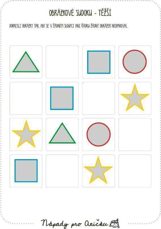 Obrázkové sudoku