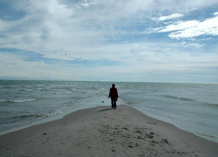 Where two oceans meet in Skagen, Danmark