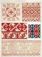 Russian folk embroidery patterns 1871