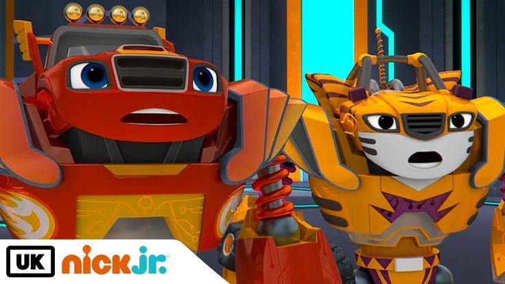 Blaze and the monster machines robot friends nick jr
