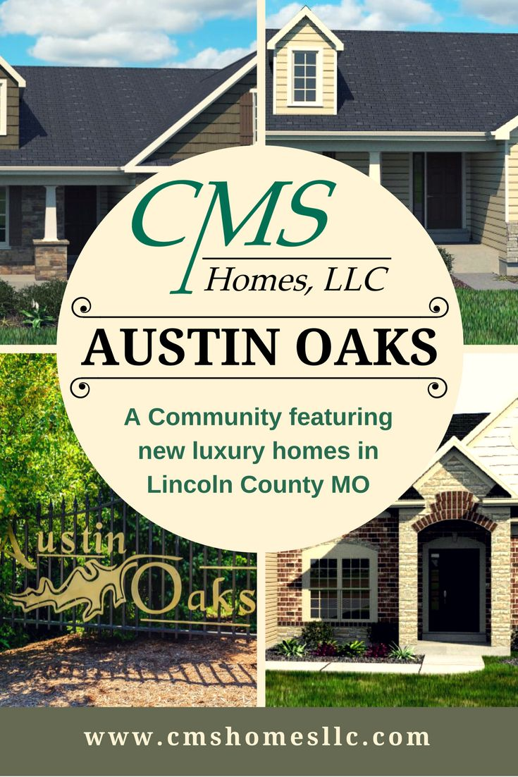 Beautiful homes available in Austin Oaks!