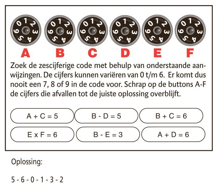 Sinds september 2011 wordt Kraak de Code in de weekendkrant van De Standaard gepubliceerd. Na succesvolle publicaties van tal van andere kranten en tijdschriften vond ook De Standaard het tijd om de populaire rekenpuzzel aan z'n lezers aan te bieden.