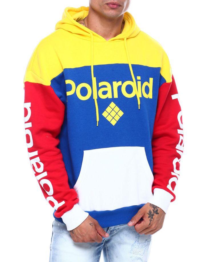 Buy polaroid primary color hoodie mens hoodies from c