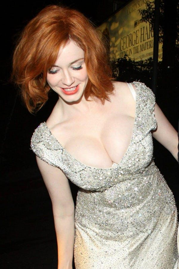 Sexy christina hendricks boobs