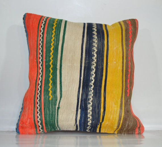 Hey, I found this really awesome Etsy listing at https://www.etsy.com/listing/177353235/decorative-throw-pillow-ethnic-kilim