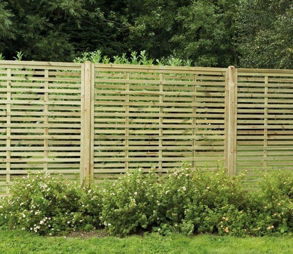 Traditional fencing isn't always the most suitable way to divide gardens or create boundaries. It has the effect of making a garden feel smaller and confined. But, as it's slatted, Kyoto screening will complement and add style to the landscape, you can see beyond it and not restricted. The screens are also pressure treated for durability and rot resistance and have a 15 year guarantee. Dimensions: 180cm, W 180cm, D 4cm.