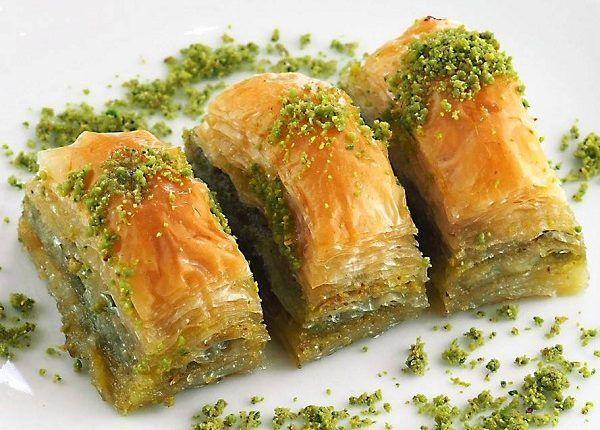 طريقة عمل بقلاوة بالفستق الحلبي طريقة Recipe Food Baklava Tasty