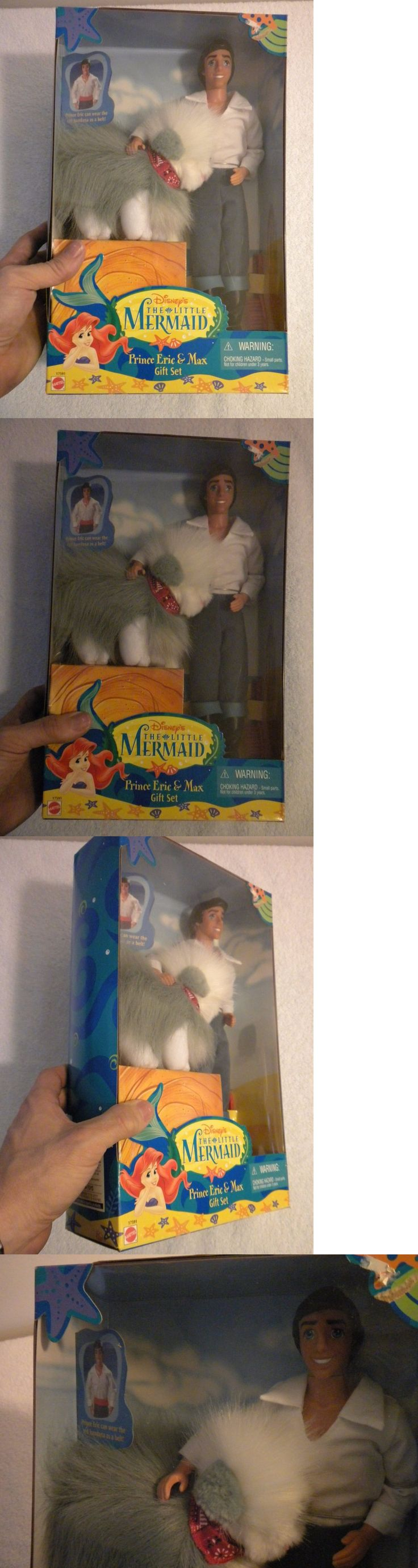 Little Mermaid 44036: Vintage 90S Disney Doll Prince Eric And Max Gift Set From The Little Mermaid New -> BUY IT NOW ONLY: $79.5 on eBay!